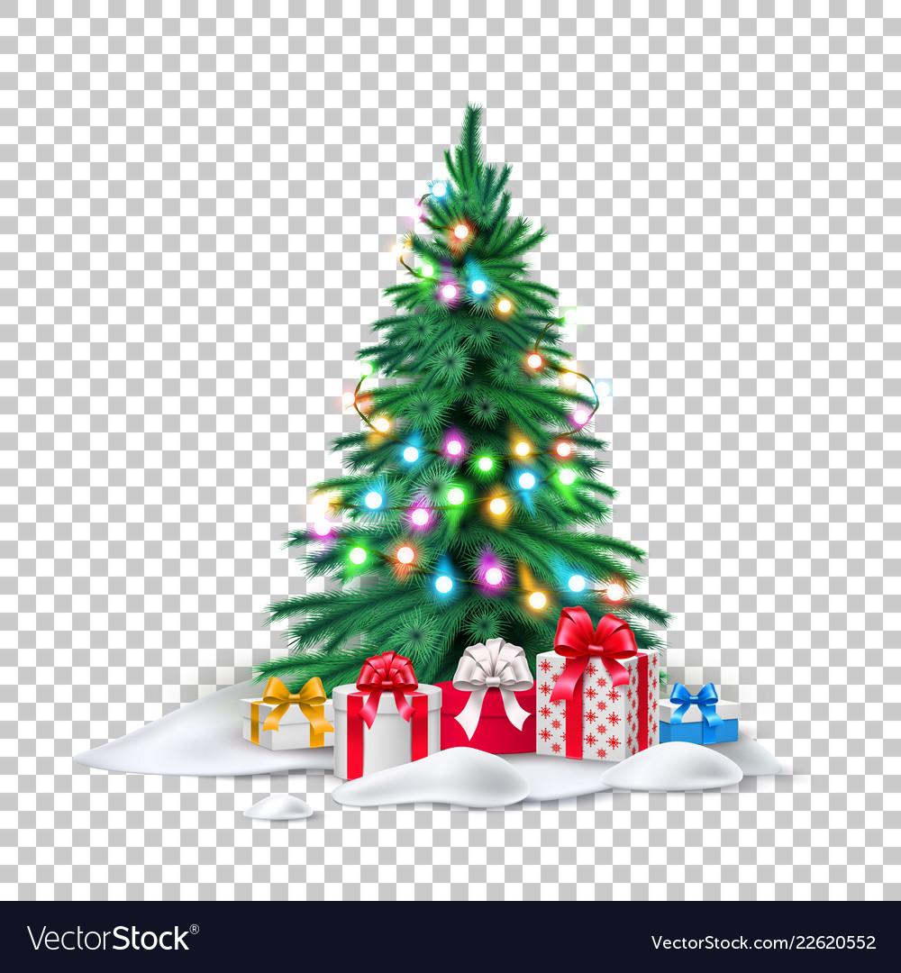 Christmas tree xmas new year design