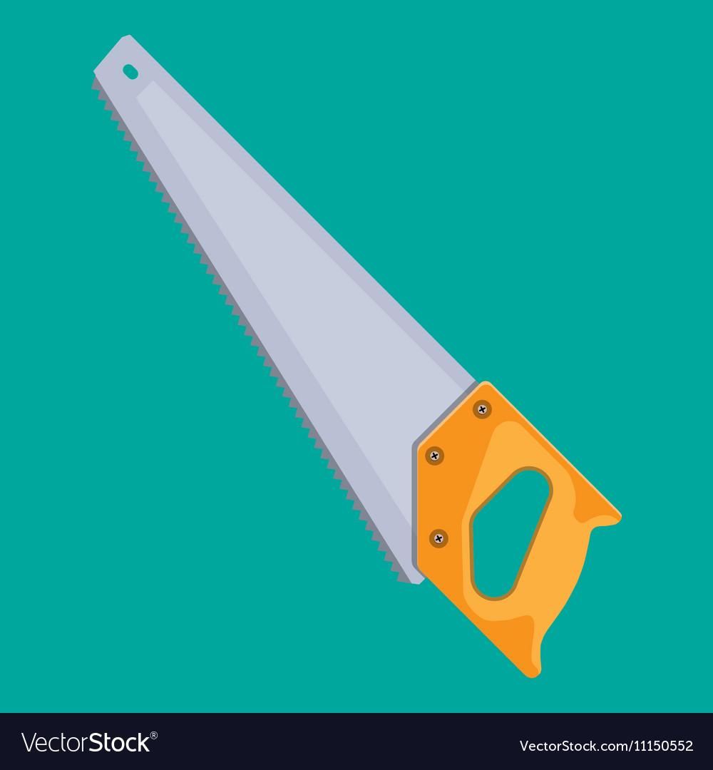 Hand saw with hardened teeth
