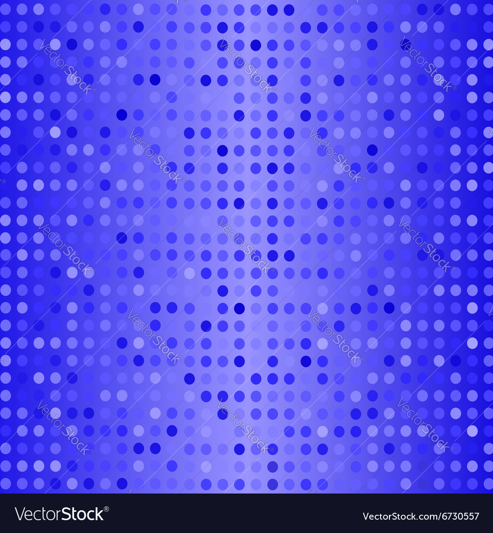 Dots on Blue Background Halftone Texture