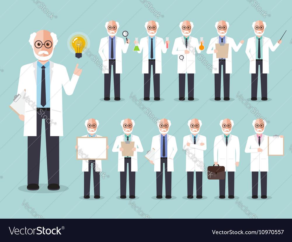 Scientist professor