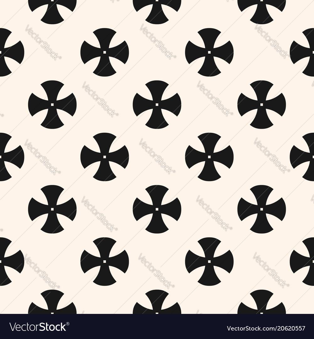 Simple floral pattern minimalist seamless texture