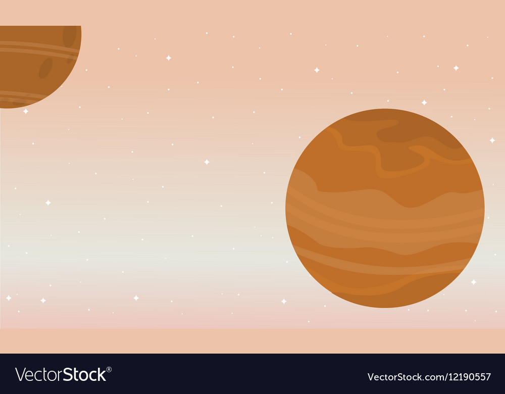 Space nature landscape collection stock