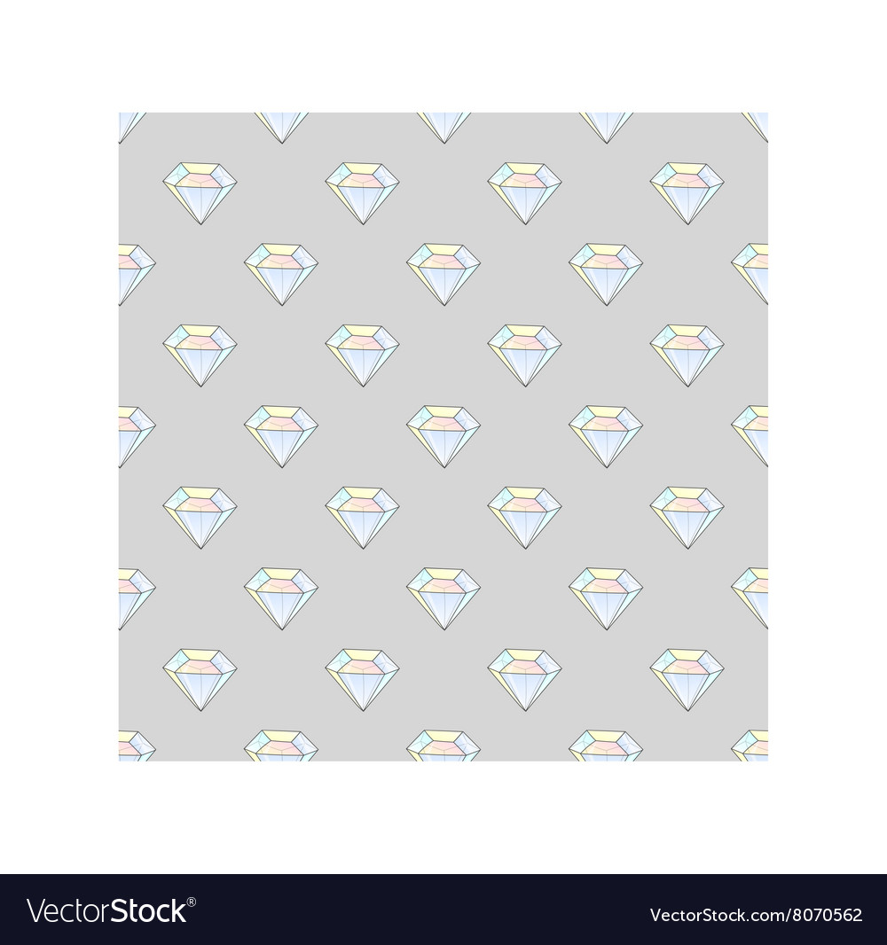 Fashion hipster seamless pattern with diamonds