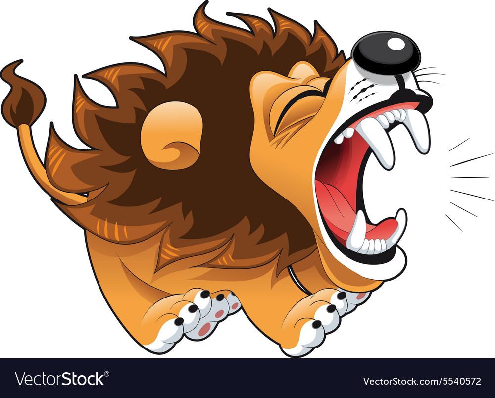 Barking lion