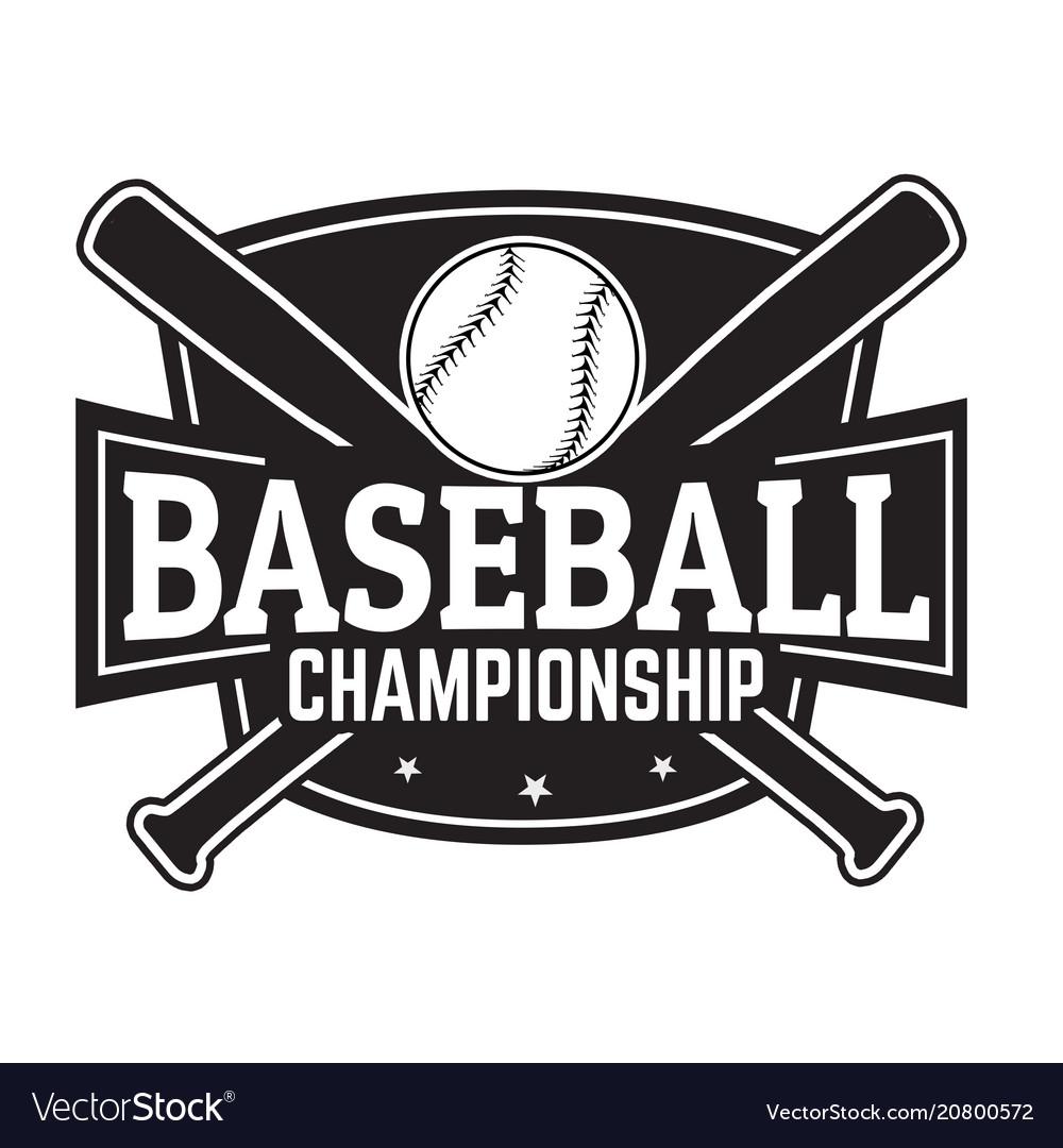 Baseball grunge rubber stamp