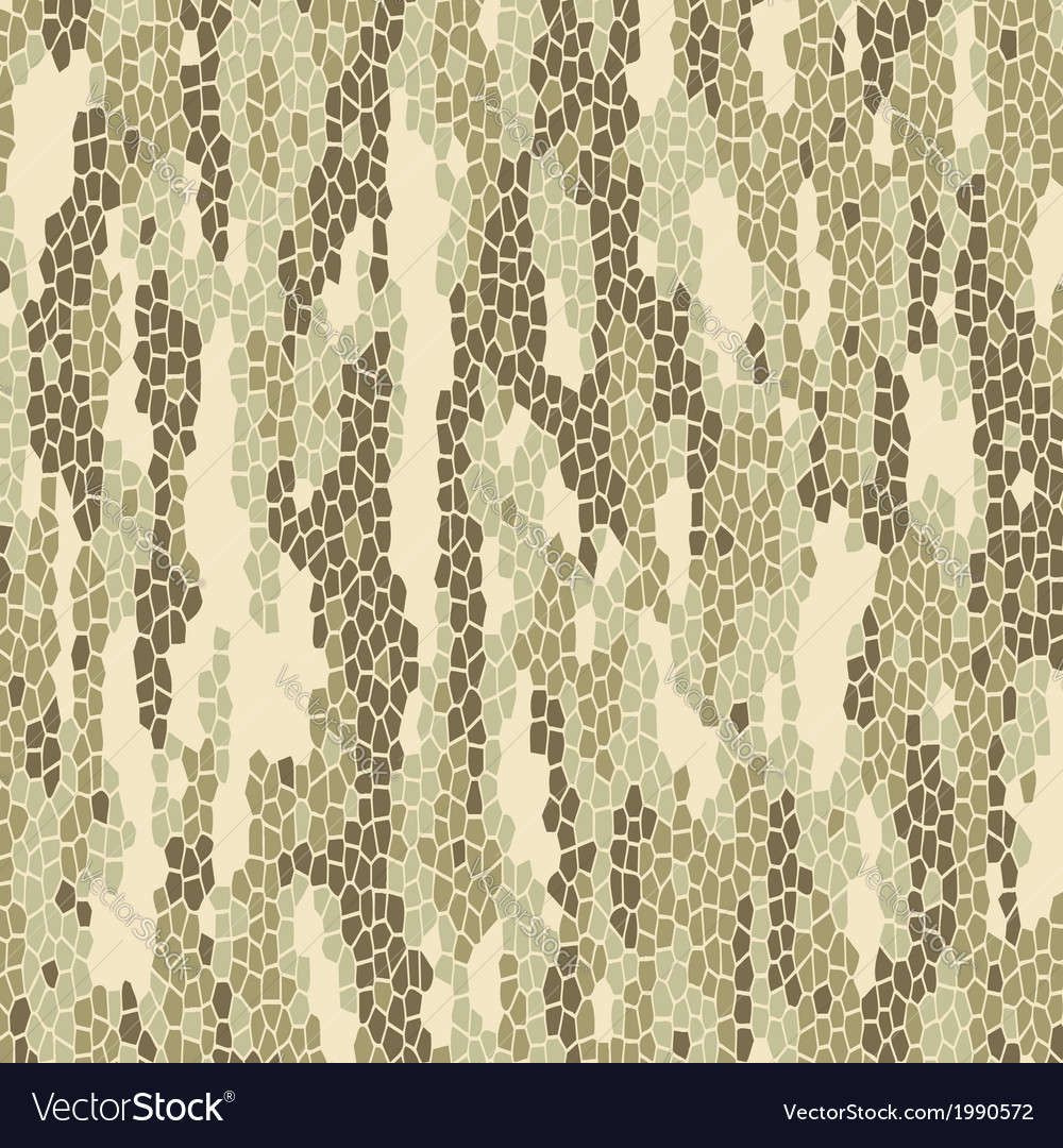 Light color camouflage pattern vector image