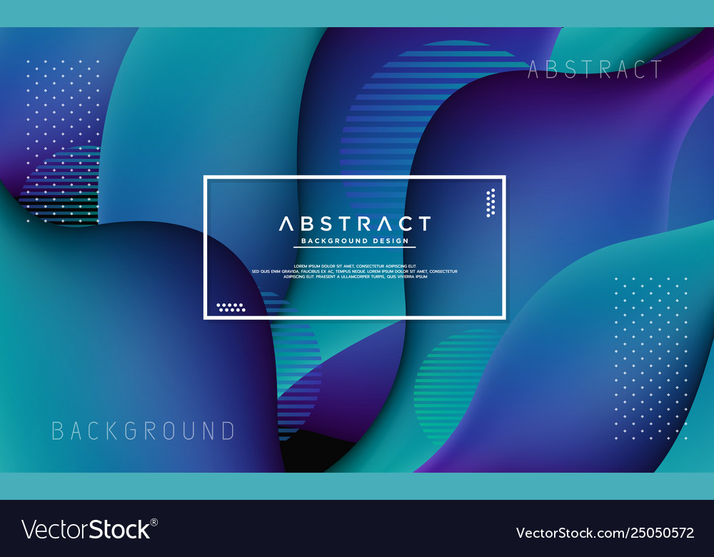 Liquid modern background with abstract style
