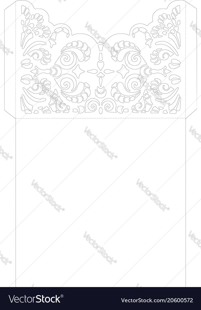 Wedding invitation or greeting card with abstract