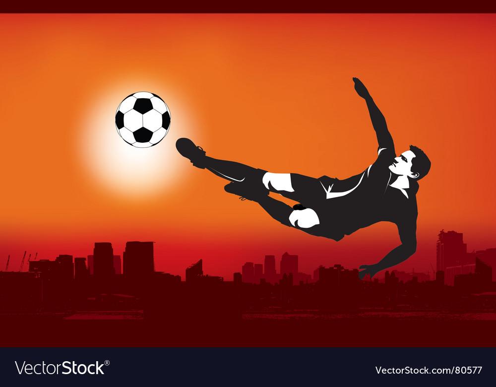 Footballer strike