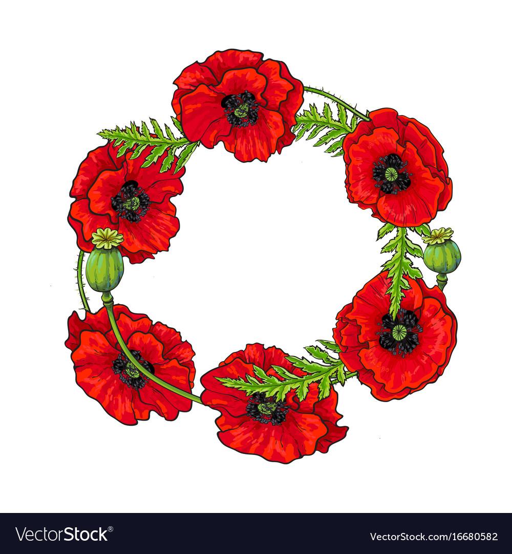 Outstanding Poppy Flower Template Model - Resume Ideas - namanasa.com