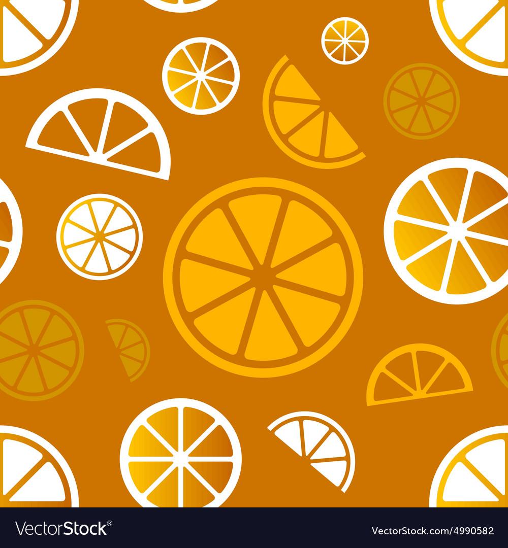 Seamless citrus pattern Eps10