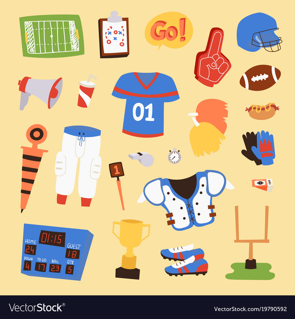 American football player uniform sport
