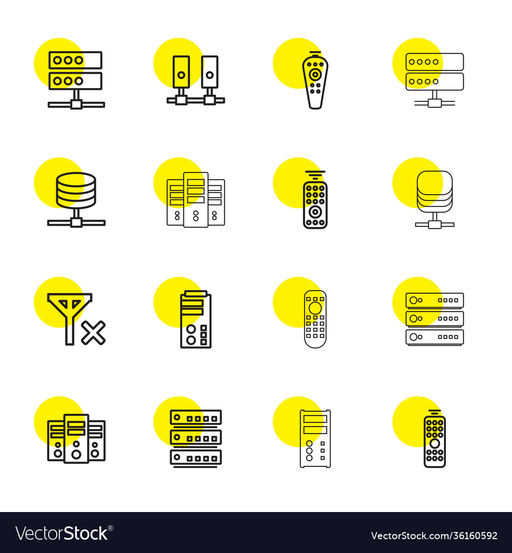 Remote icons