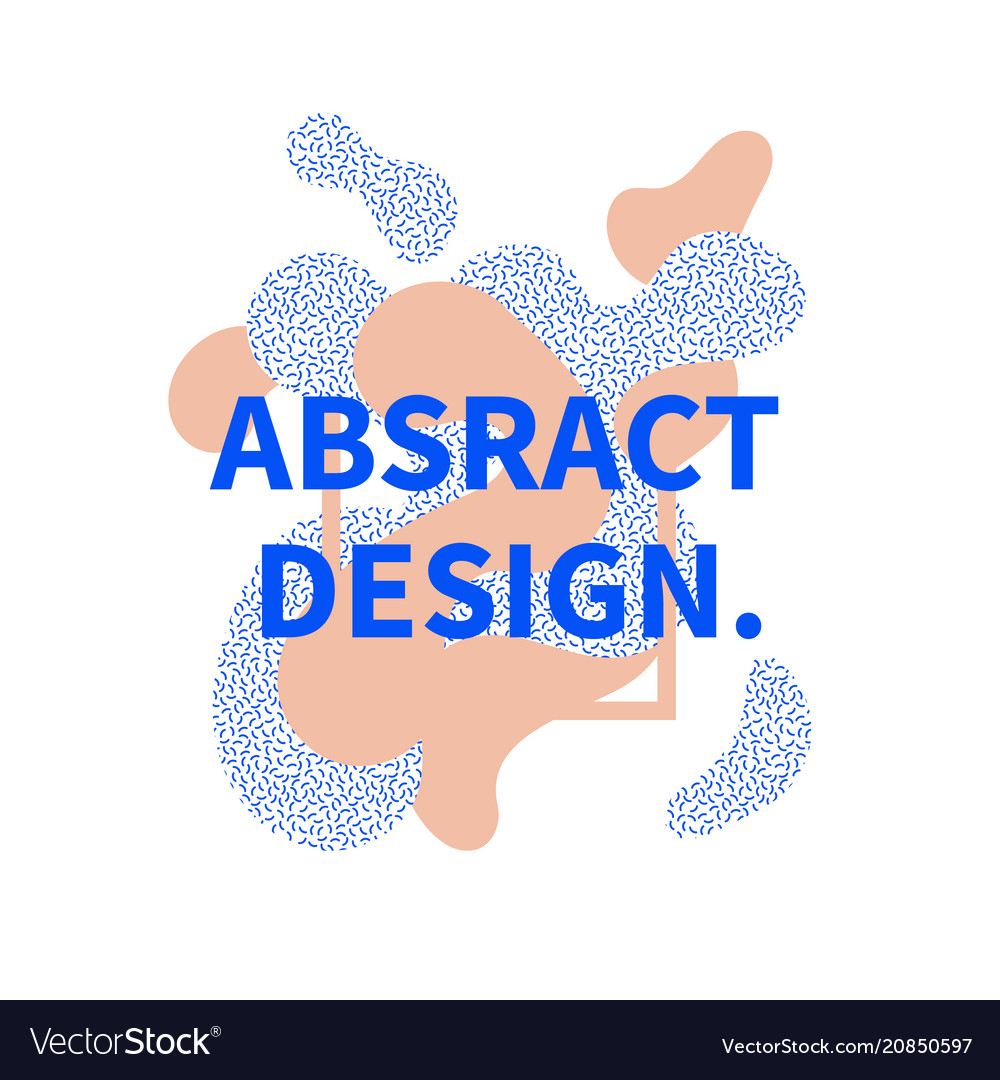 Abstract design decorative banner