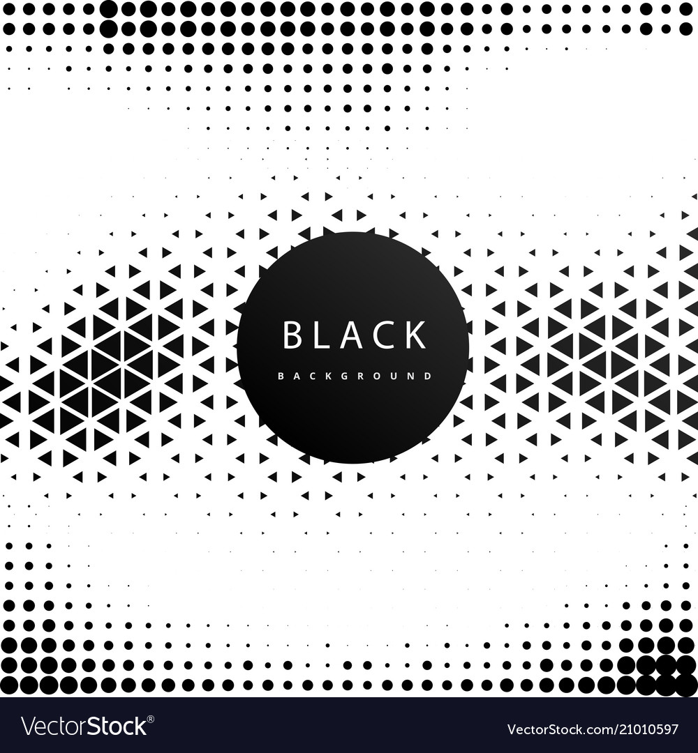 Abstract geometric hipster pattern black backgroun