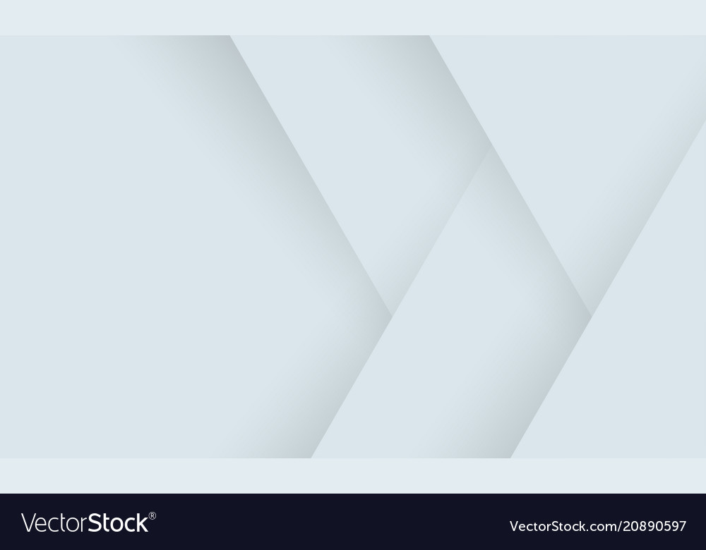 Geometric abstract white background of gray