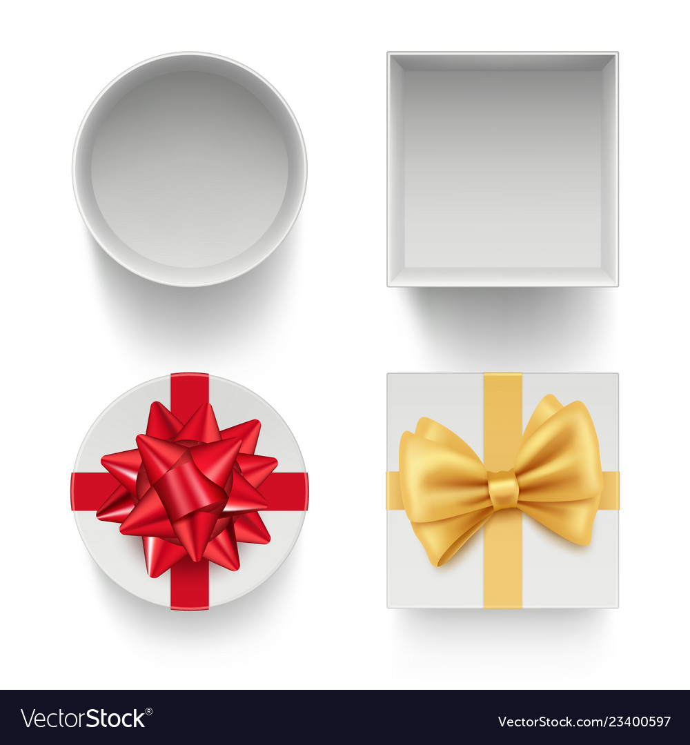 Present boxes with bows gifts celebration