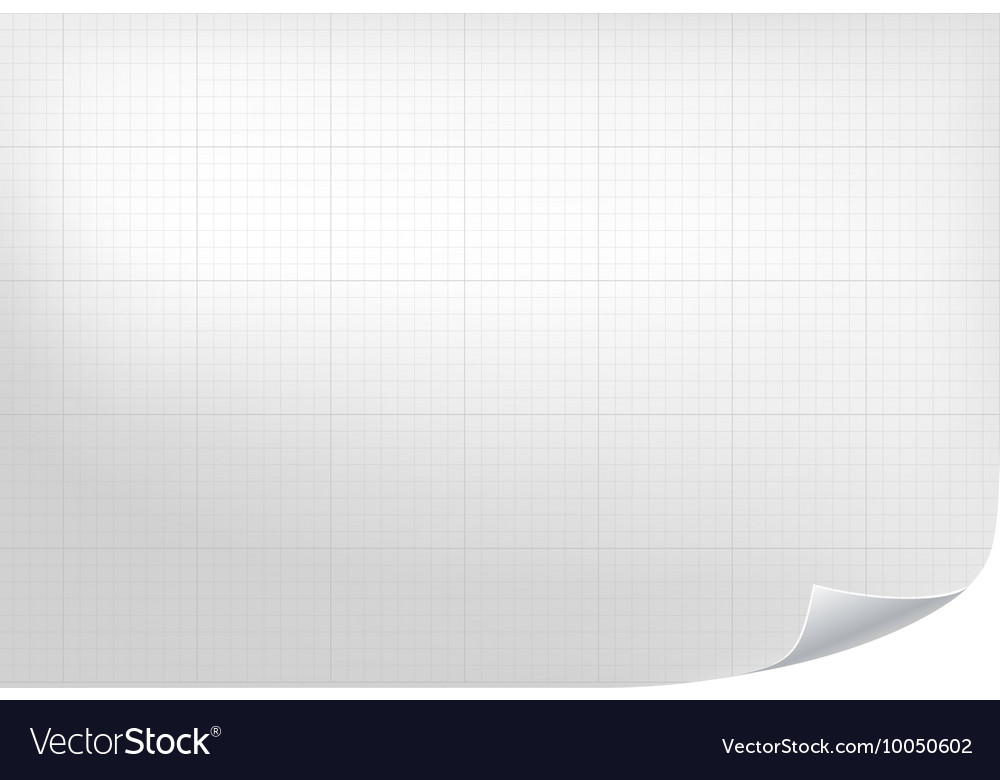 Technical grid background realistic blank paper