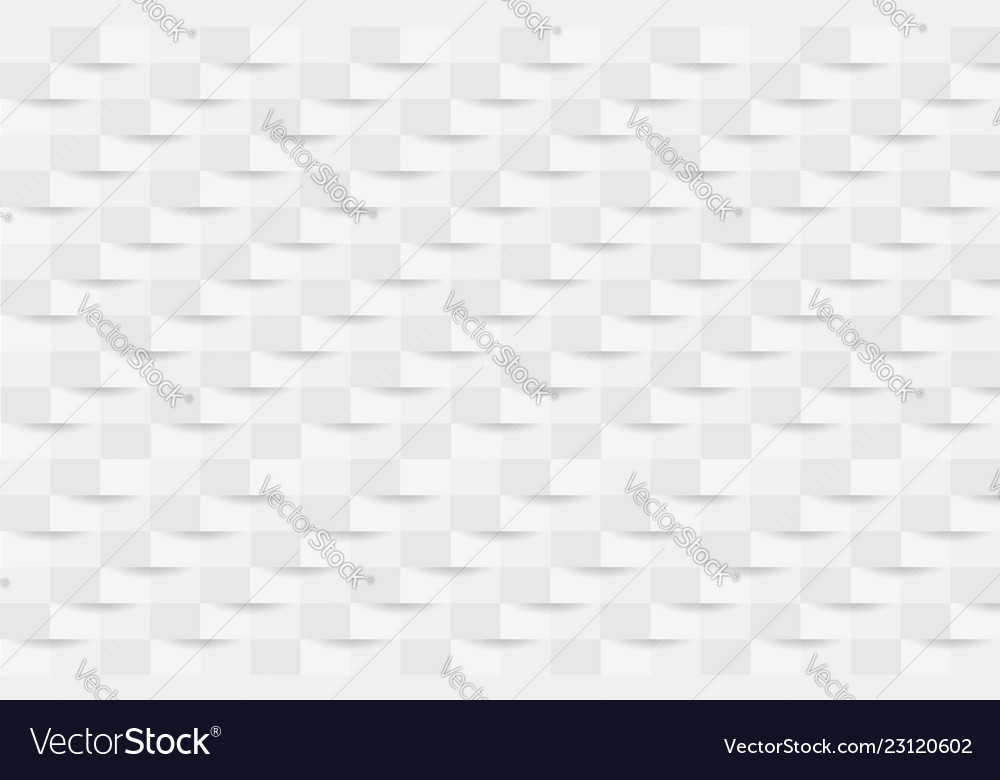 White abstract texture background 3d paper art Vector Image