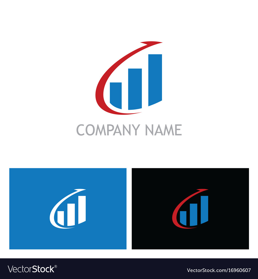Arrow business finance stock logo