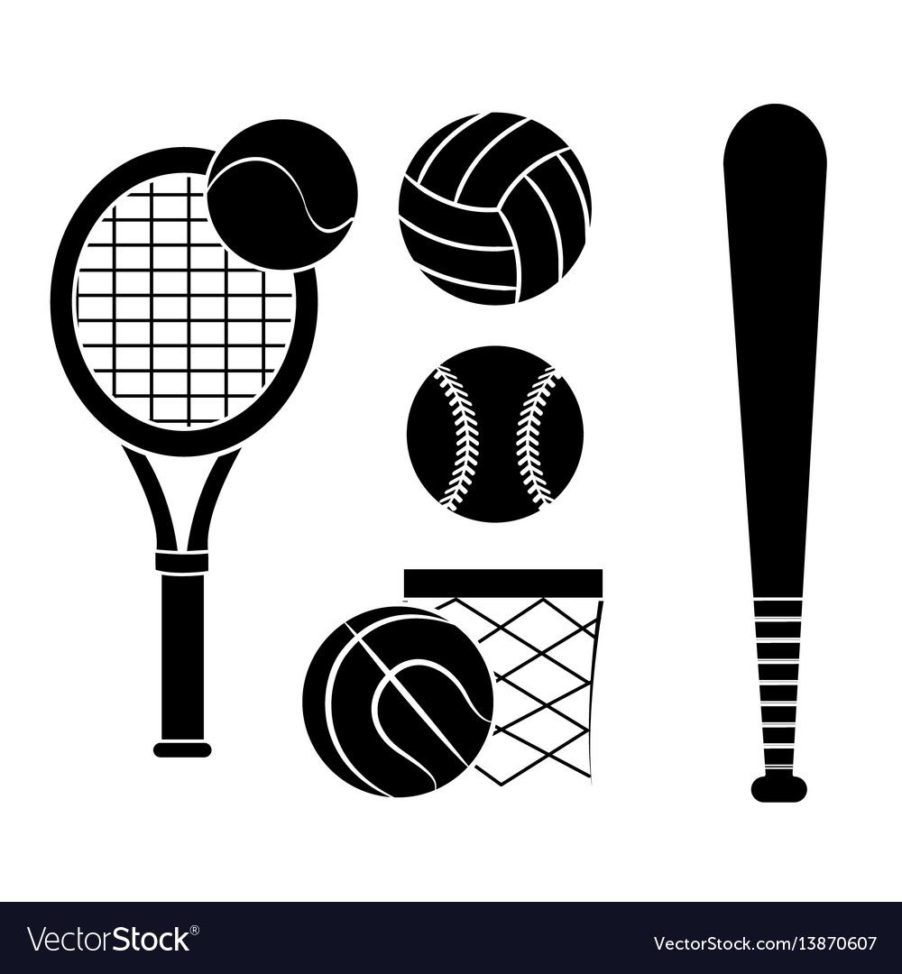 Contour sport game background icon
