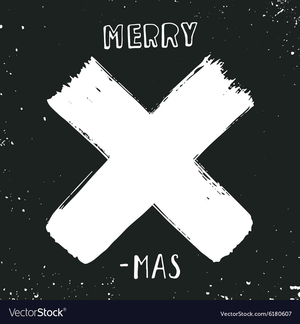 merry x-mas royalty free vector image - vectorstock
