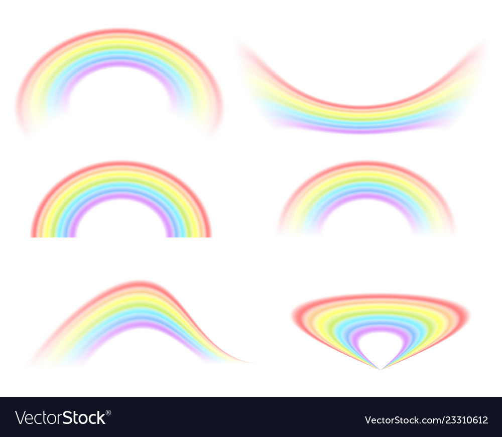 A selection of rainbow