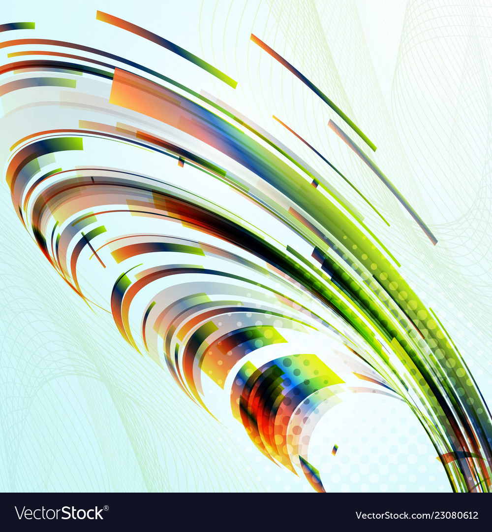 Abstract smooth color wave background