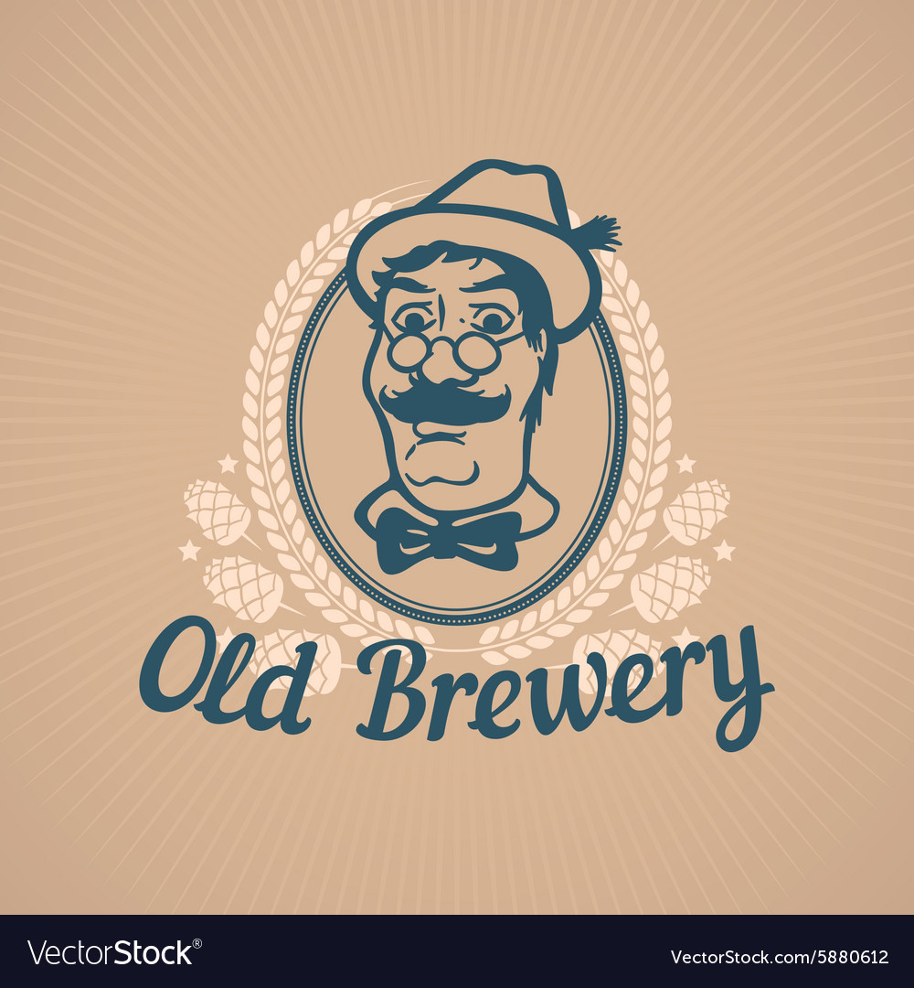 Old Brewery or Beer House Logo