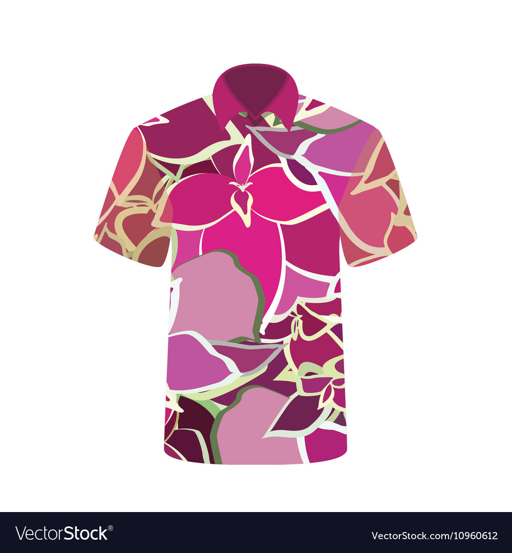 Unisex T-shirt with the Image Flower