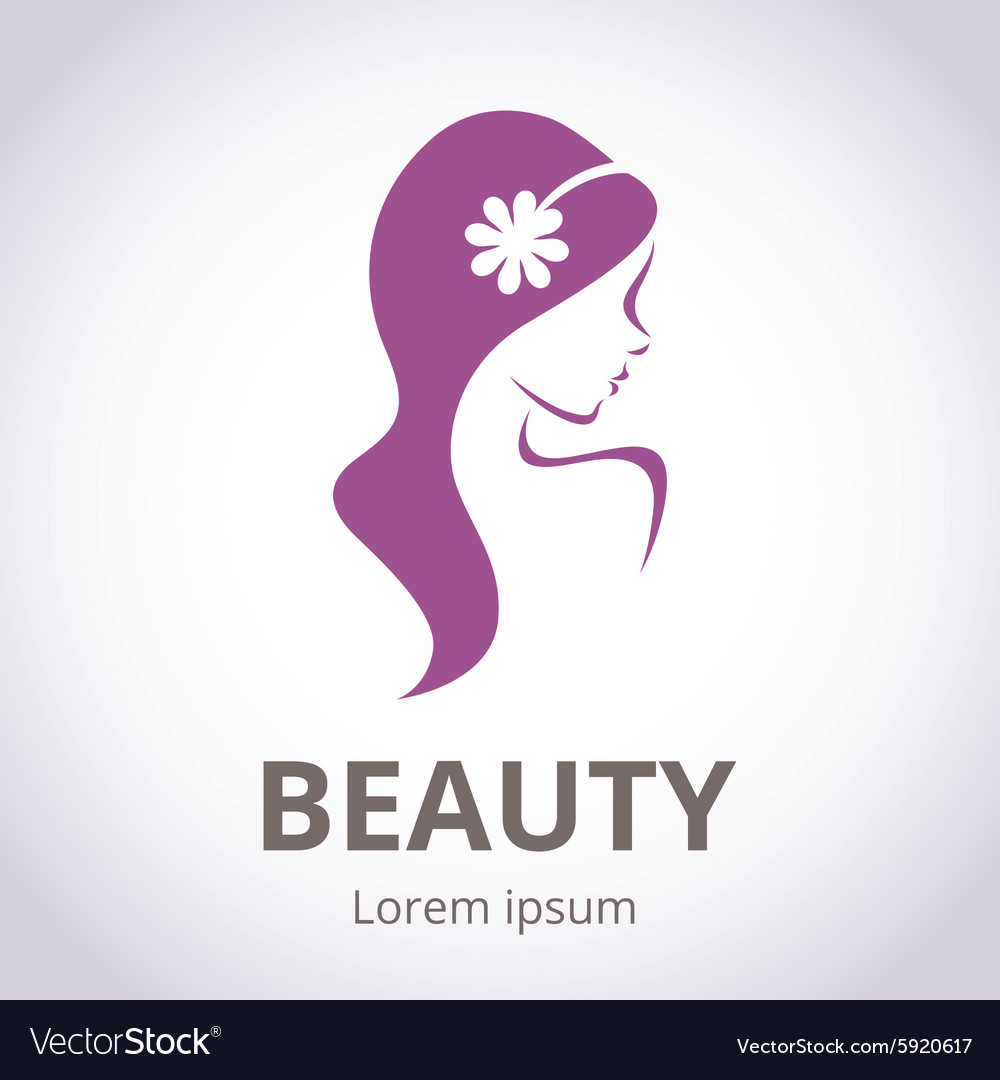 Abstract Logo For Beauty Salon Royalty Free Vector Image