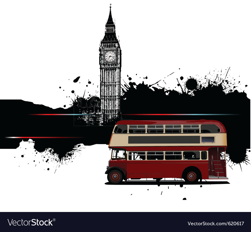 London border vector image