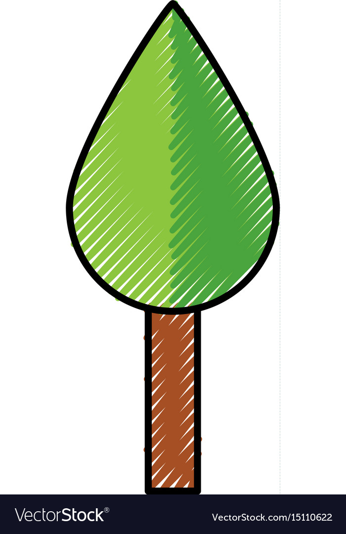 Cute tree cartoon