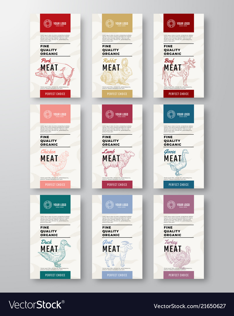 Fine quality organic meat and poultry vertical