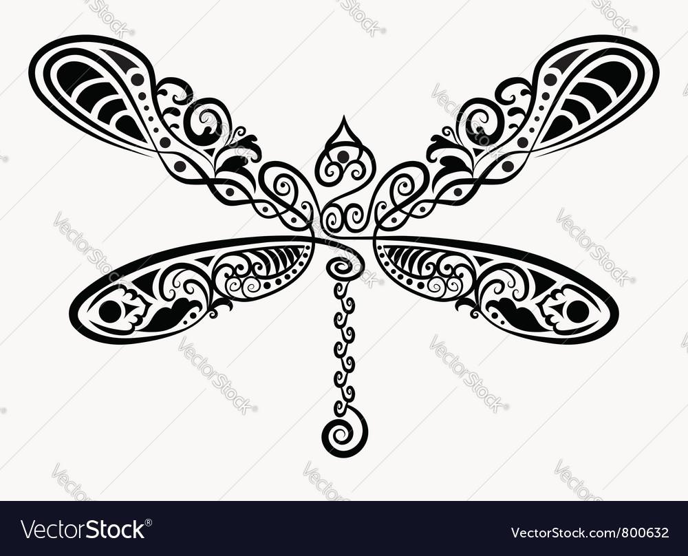 Decorative dragonfly