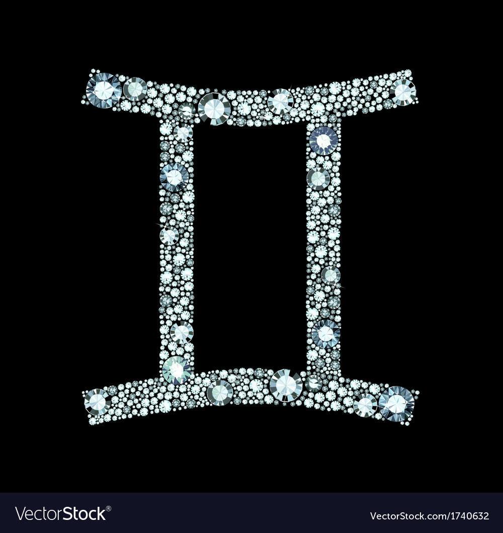Diamond Gemini Symbol