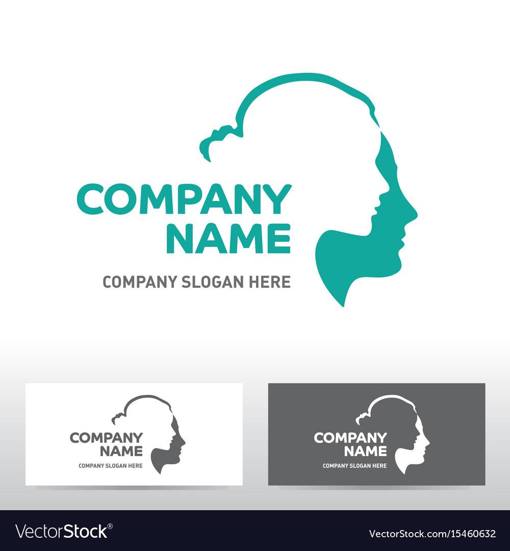 Public association logo design vector image