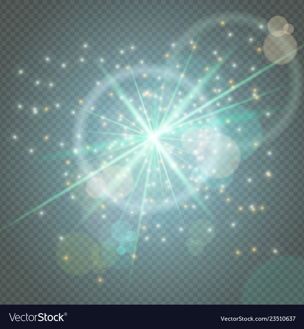 Sparks glitter glowingstar burst particles glow