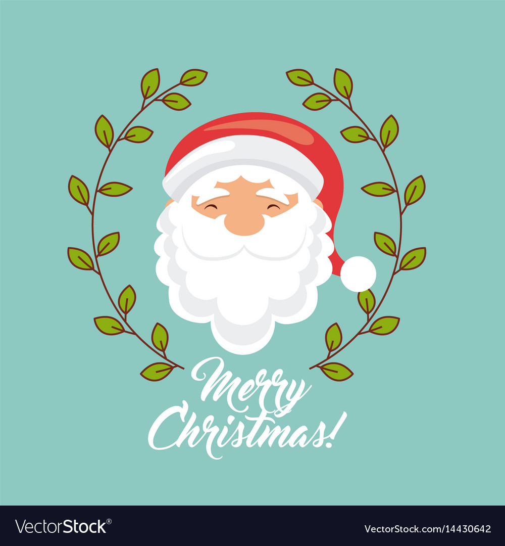 Happy Merry Christmas Card Royalty Free Vector Image