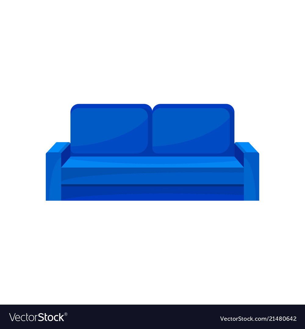 Modern Blue Sofa Living Room Furniture