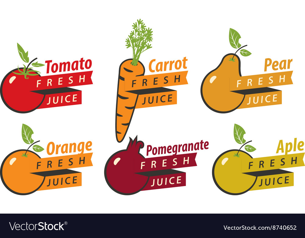 Fruits with fresh juice