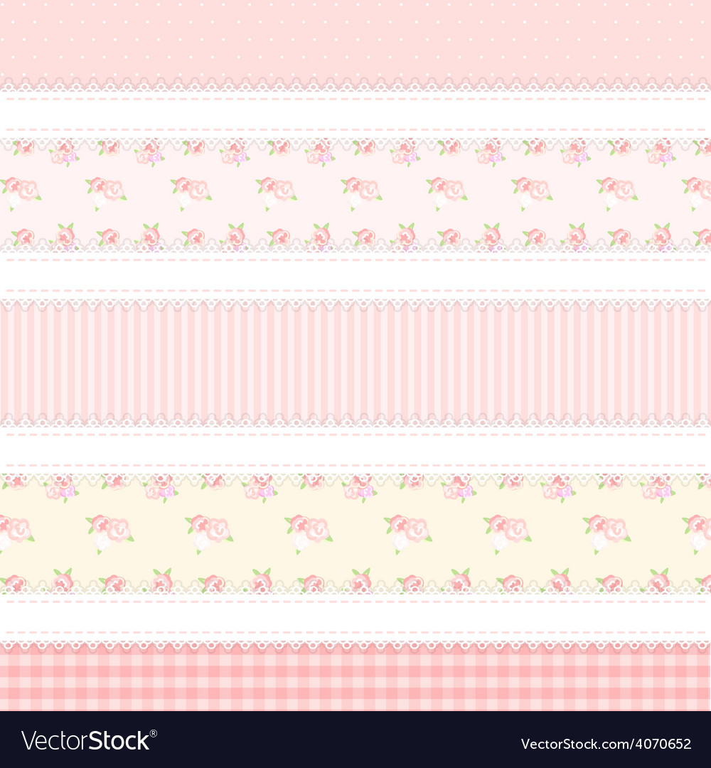 Shabby chic provence style 5 backgrounds