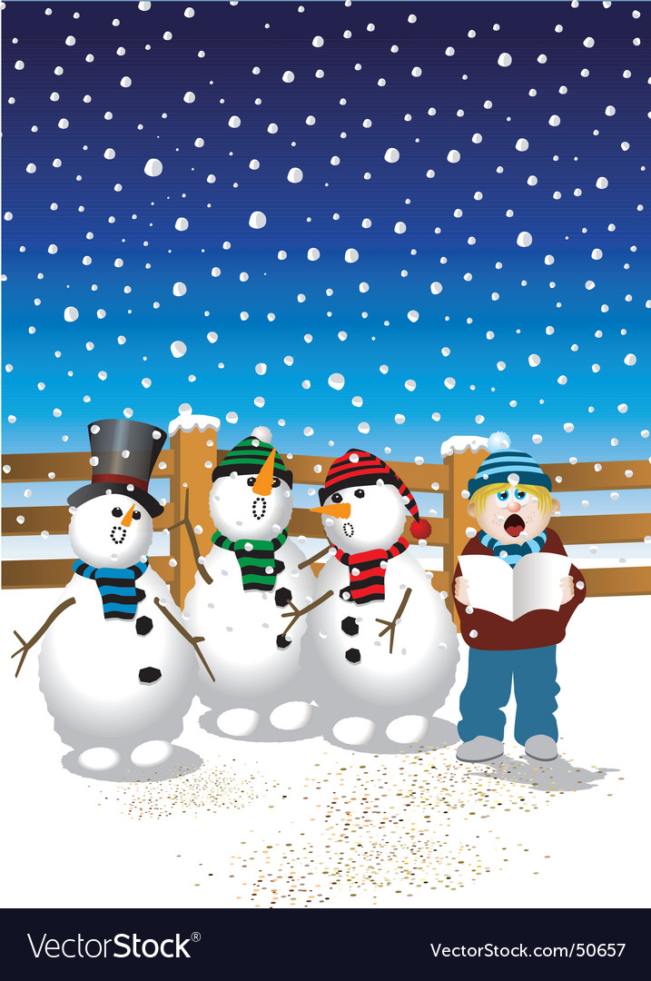 christmas songs vector image - Christmas Songs Free