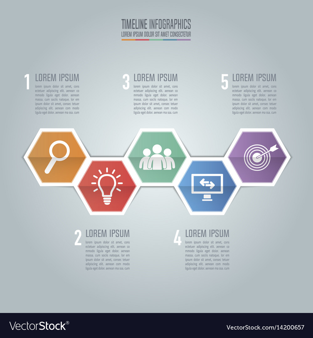 infographic timeline