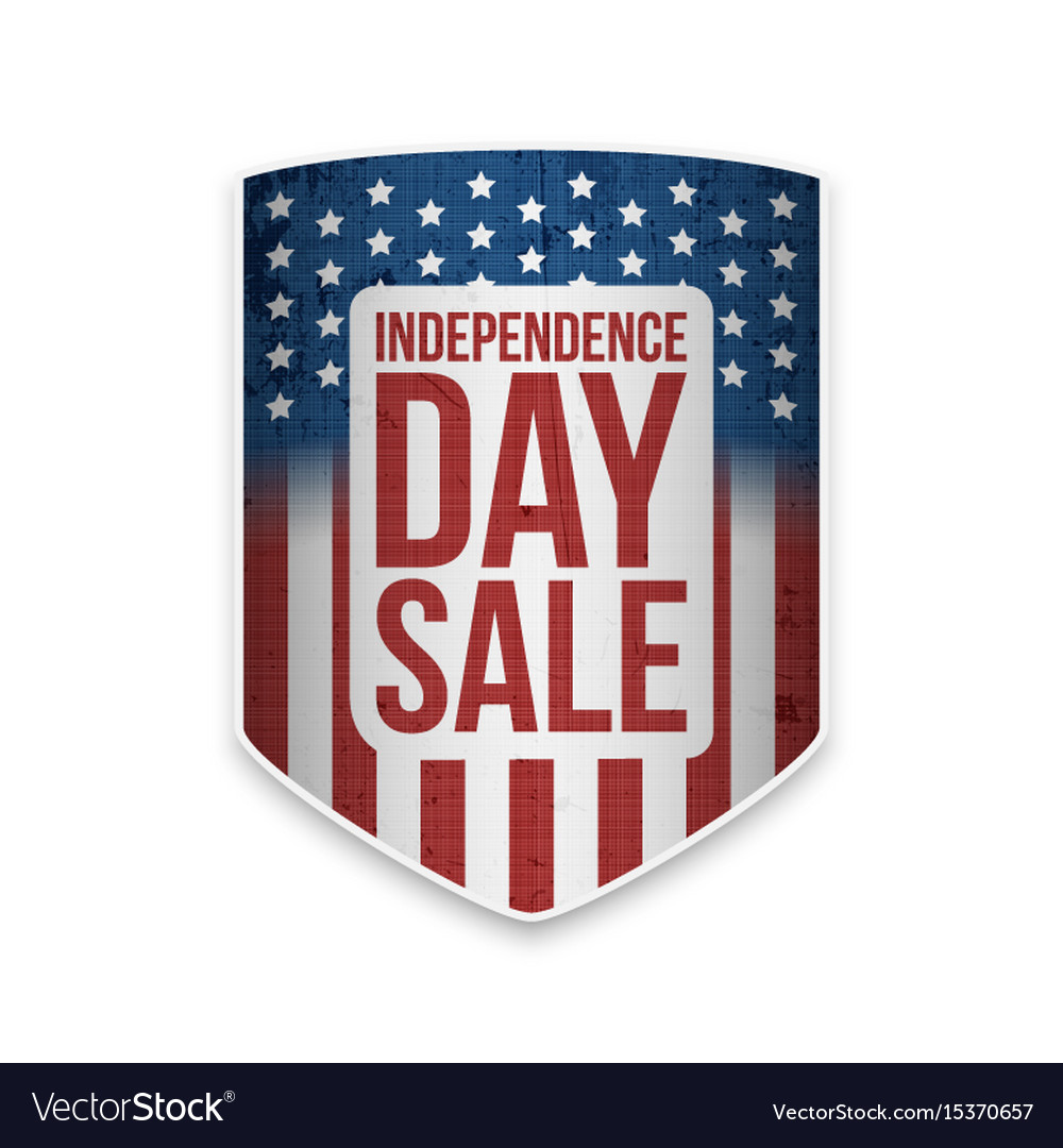 United states independence day sale banner