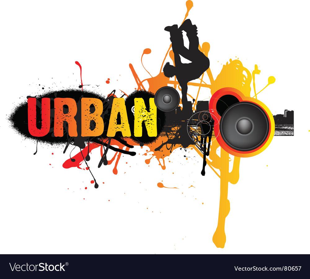 Urban break dance music