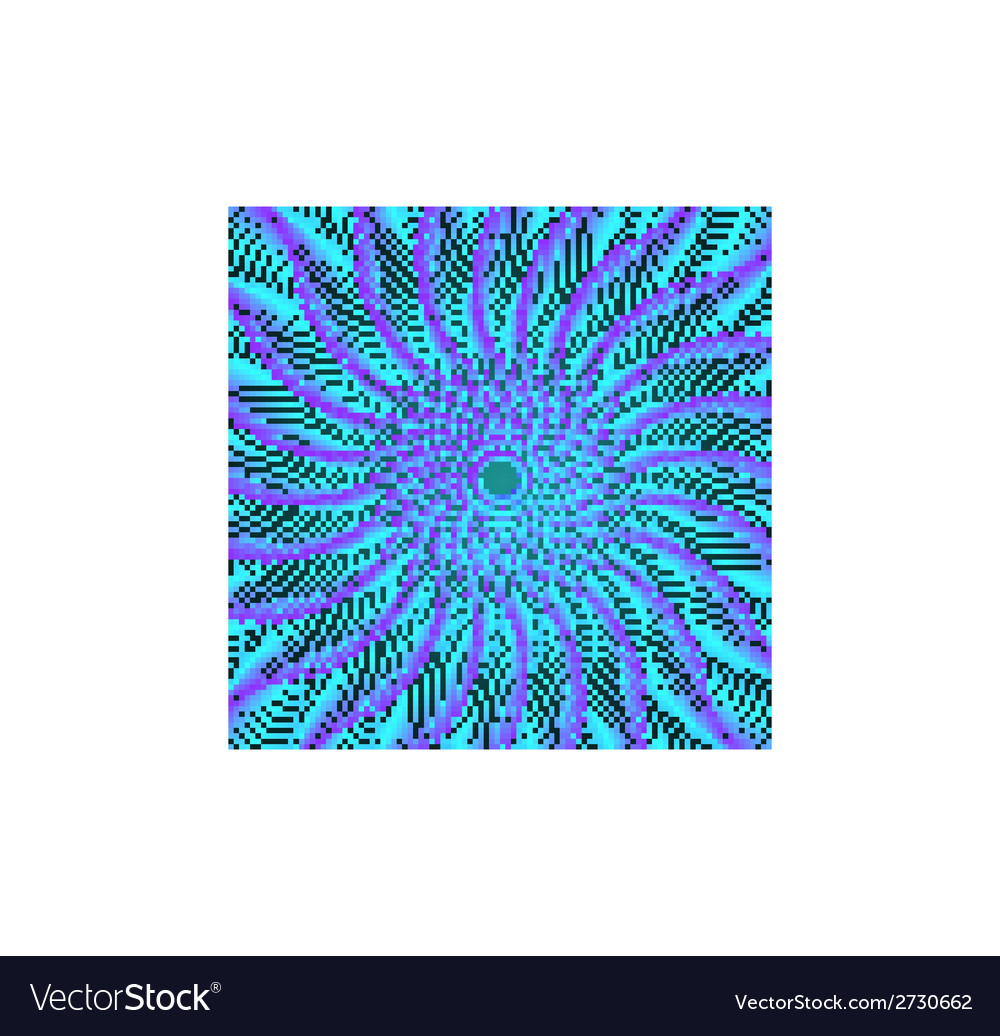 Abstract whirl lines textured background vector image