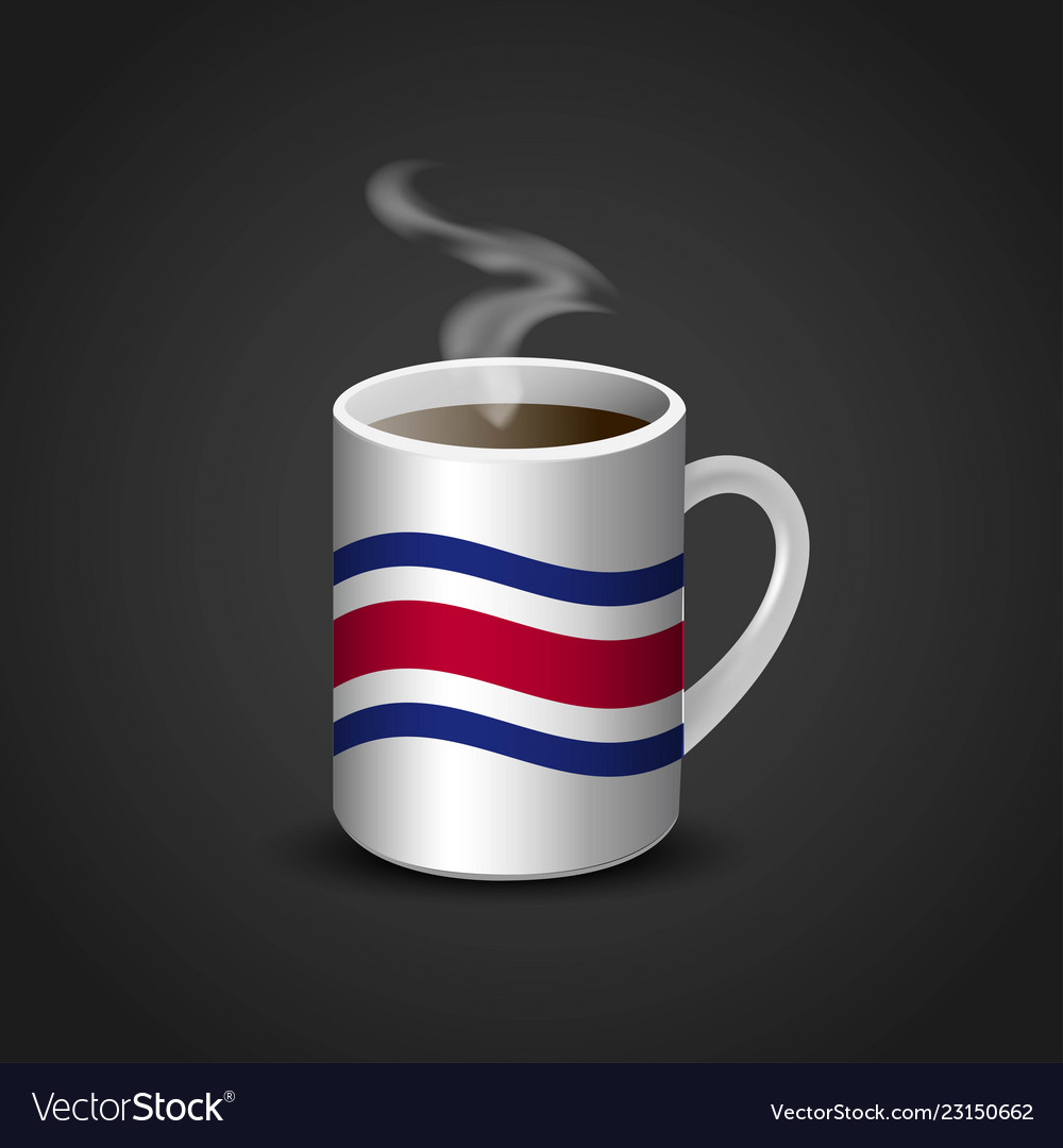 Flags cup design