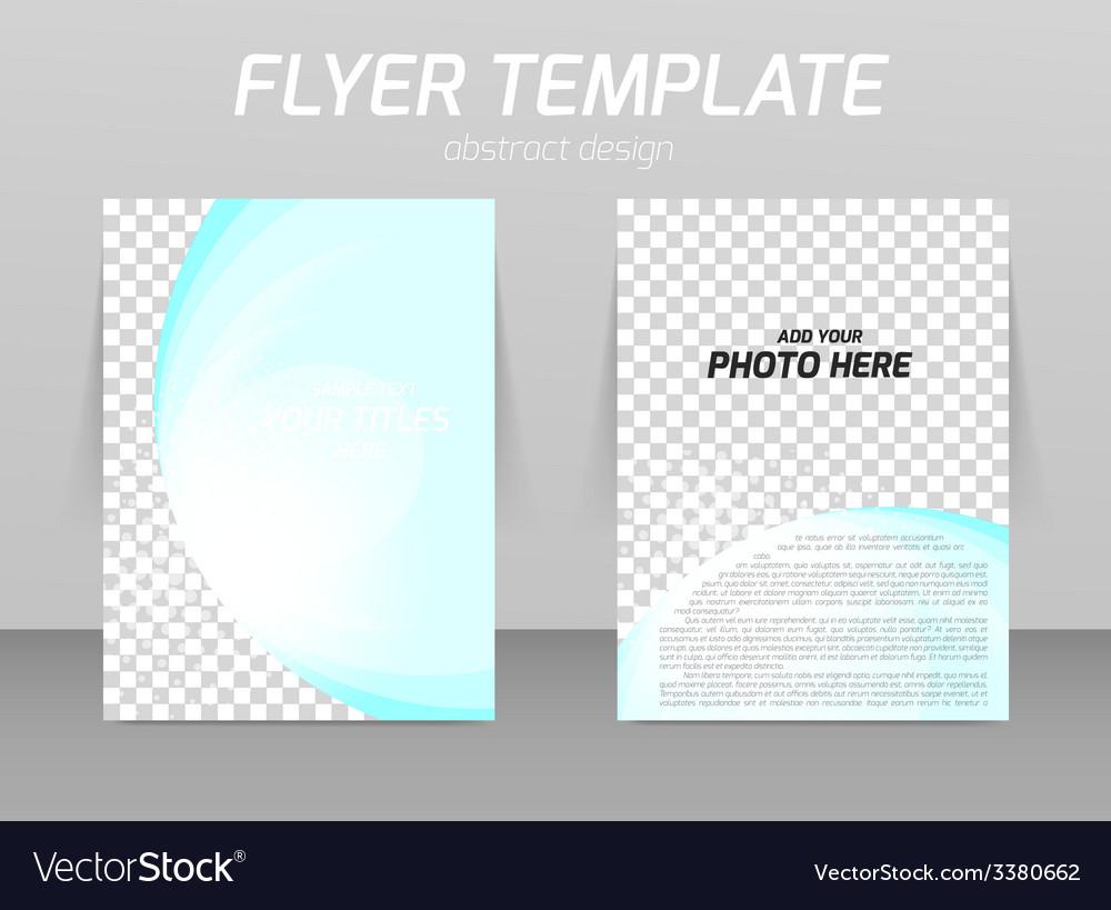 flyer template vector art download booklet vectors 3380662. Black Bedroom Furniture Sets. Home Design Ideas