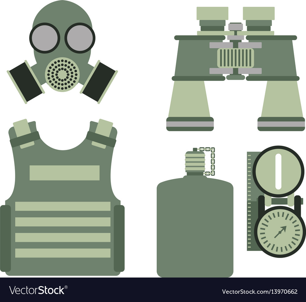 Military body armor symbols armor set forces